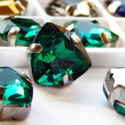 Триллианты Malachite green 12 мм