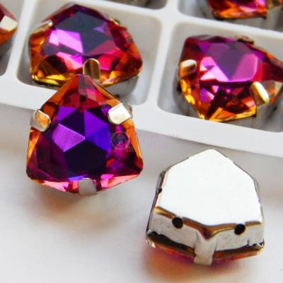 Триллианты Purple blue 12 мм