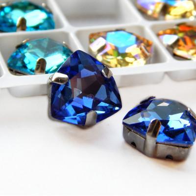 Триллианты Light blue12 мм