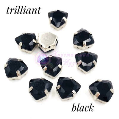 Триллианты Black 12 мм