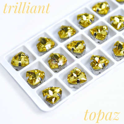 Триллианты Light topaz 7 мм