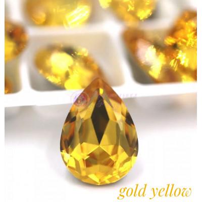 Капли Gold yellow в цапе 10x14, 13x18