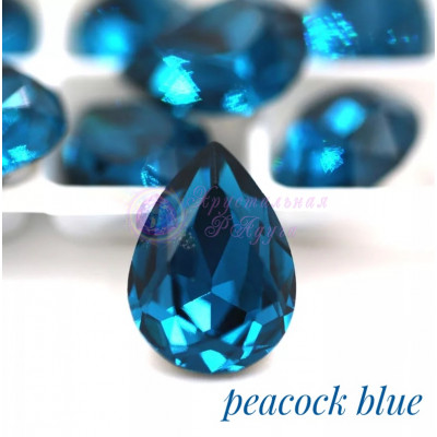 Капли Peacock blue в цапе 10x14, 13x18