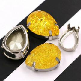 Капли Gold yellow 10x14