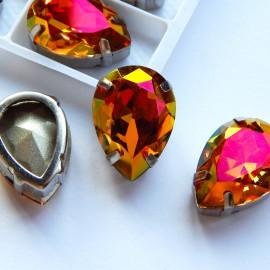 Капля Хамелеон 10x14, 13x18 Crystal copper