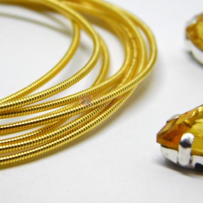 Канитель жесткая Золото 1,1 мм 5гр
