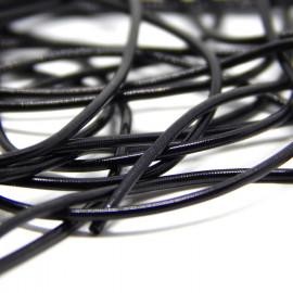 Канитель мягкая Черная 1,0 мм 5гр