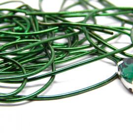 Канитель мягкая Зеленая 1,0 мм 5гр