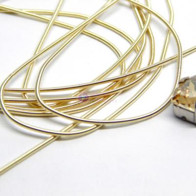 Канитель мягкая Светлое золото 1,0 мм 5гр