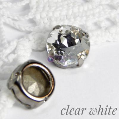 Круг 12 мм Clear white