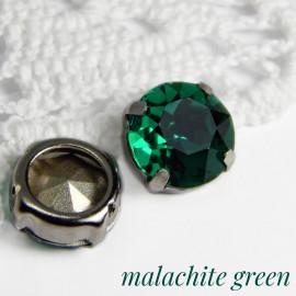 Круг 12 мм Malachite green