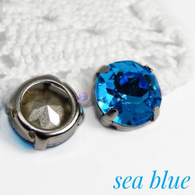 Круг 12 мм Sea blue
