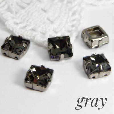 Квадраты Gray 8 мм, 10 мм