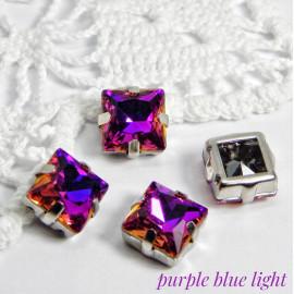 Квадраты Purple blue light 10 мм