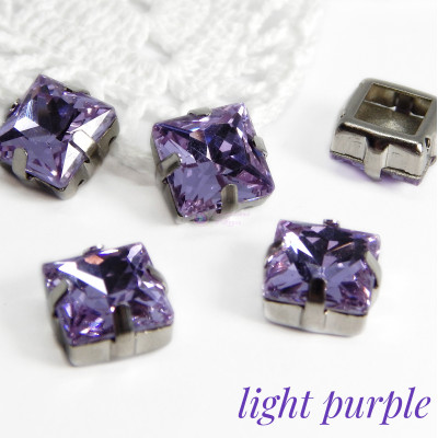 Квадраты Light purple 10 мм