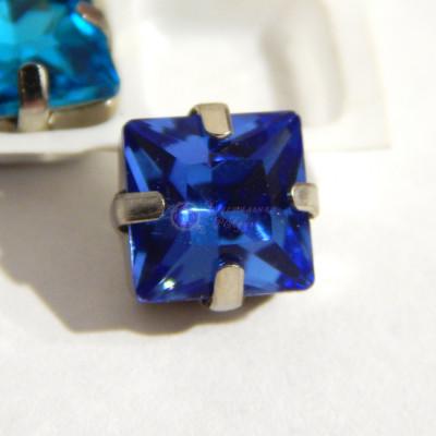 Квадраты Light blue 8 мм