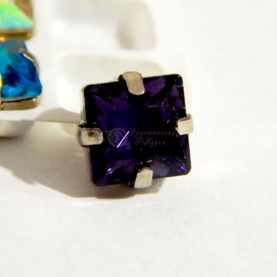 Квадраты Deep purple 8 мм