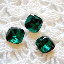 Квадраты без цап 12 мм Malachite green