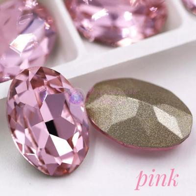 Овалы в цапе Pink 10x14,13x18