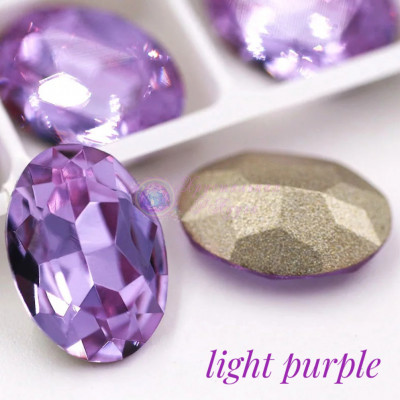 Овалы в цапе Light purple 10x14,13x18