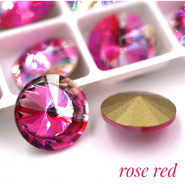 Риволи AB в цапе 14 мм Rose red