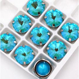 Риволи Флуоресцентные  Sea blue 12 мм