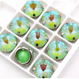 Риволи Флуоресцентные  Olive 12 мм
