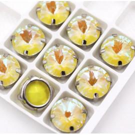 Риволи Флуоресцентные  Yellow 12 мм