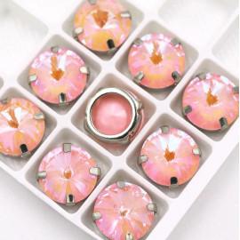Риволи Флуоресцентные  Light rose 12 мм