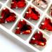 Сердце Red 12x13 mm