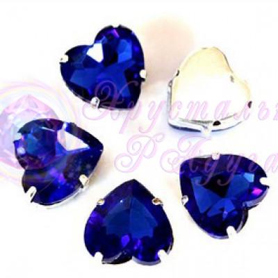 Сердце 8 мм Sapphire