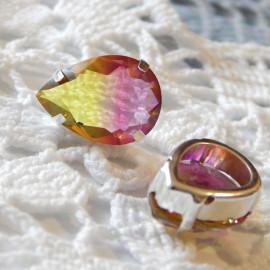 Стразы турмалин прозрачные  color 5, 10x14, 13x18